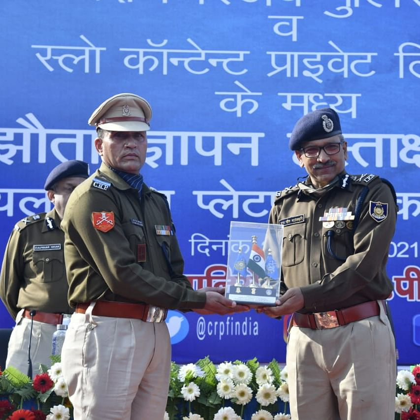 CRPF launches Project OJ narrating stories of its heroes to the nation
