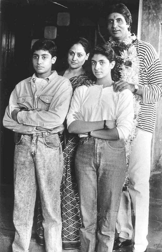 Happy Birthday Abhishek Bachchan: These childhood pics of actor with father Amitabh Bachchan are too cute to handle