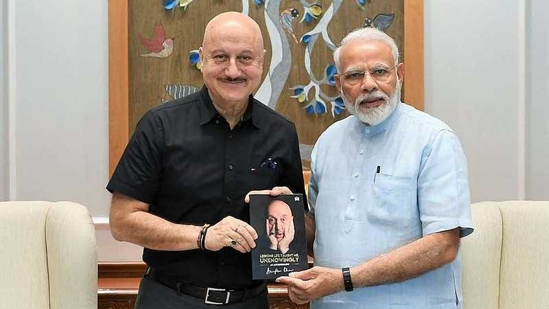 PM Modi pens letter for Anupam Kher after reading 'Your Best Day Is Today'; actor expresses gratitude