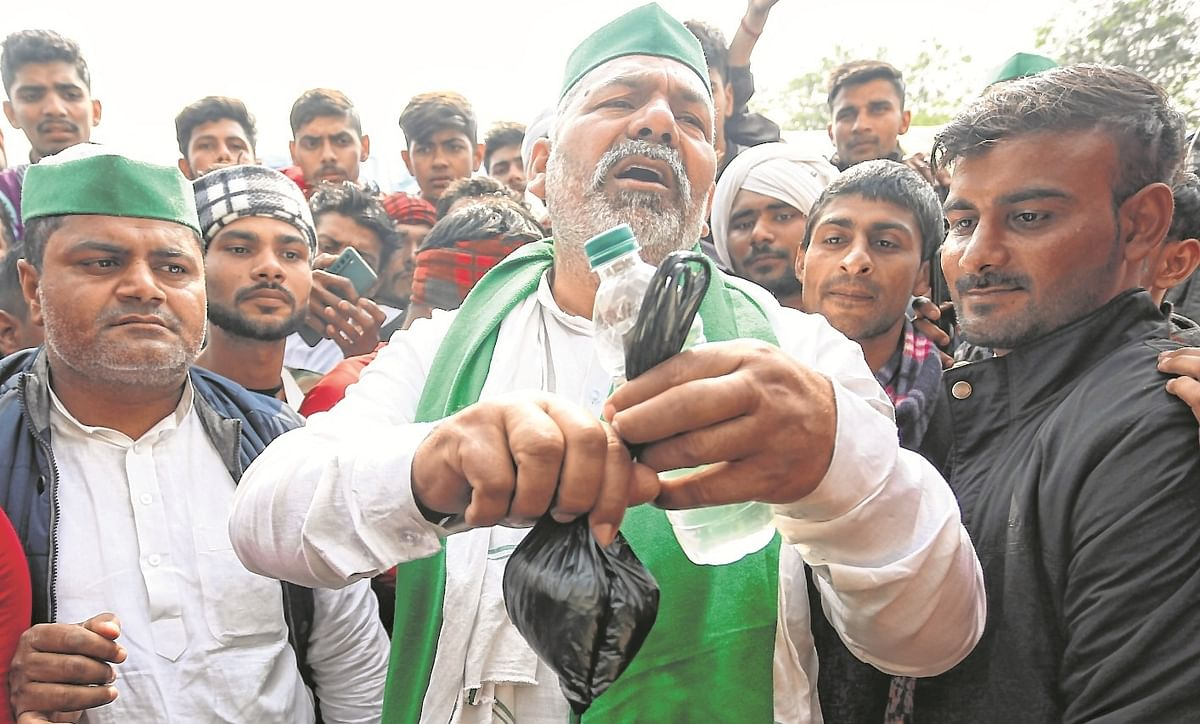 If govt imposes section 144, farmer unions will put section 188, warns BKU's Rakesh Tikait during rally in Rajasthan