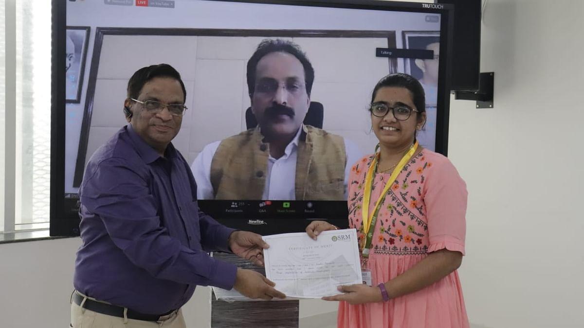 Research Day celebration 2021 at SRM University-AP, Andhra Pradesh