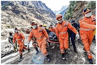 Uttarakhand Tragedy: All-out rescue effort in Chamoli