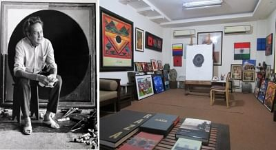BHOPAL: Iconic painter Sayed Haider Raza's centenary celebrations begin in Madhya Pradesh, Delhi