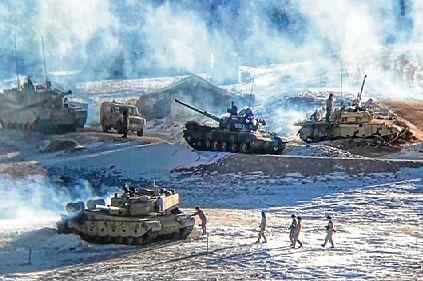 Drones, cameras to monitor Chinese troops pullback at Pangong Lake
