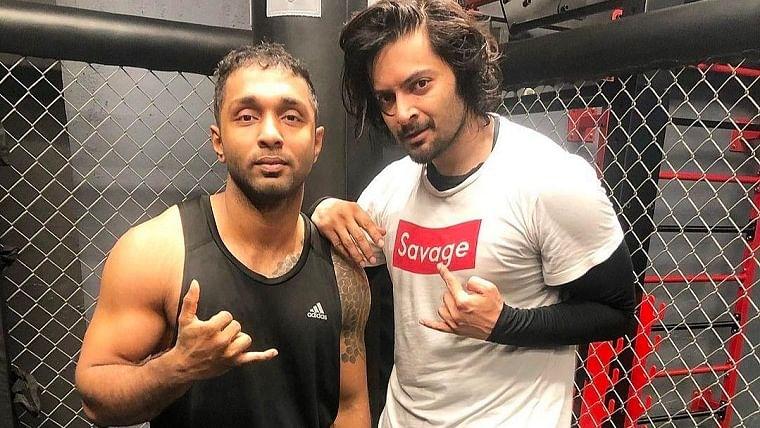 'Mirzapur' actor Ali Fazal takes to kickboxing, trains with famous fitness MMA coach Rohit Nair