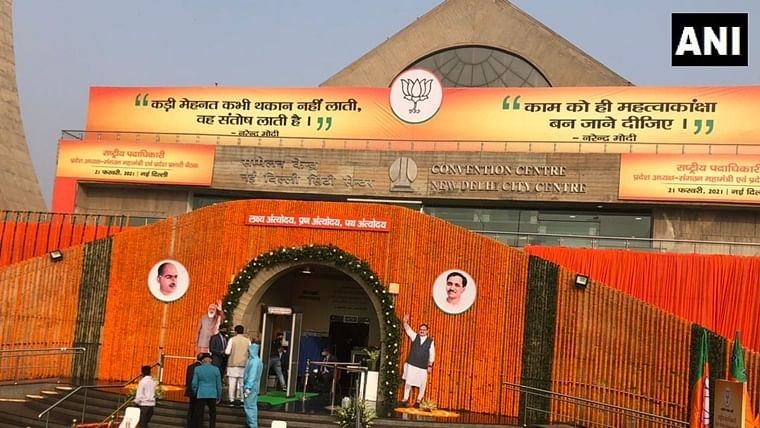 PM Modi to address meeting of BJP national office-bearers today