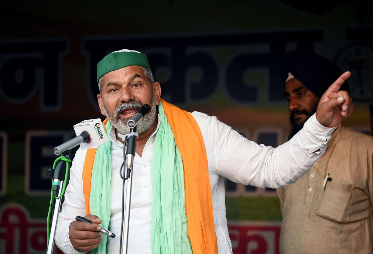 Uttar Pradesh: 3 farmers destroy crops to support BKU leader Rakesh Tikait's call
