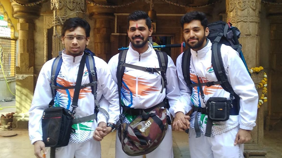 Amol Choksi, Venish Patidar and Deep Shah head to Siachin on adventure trip