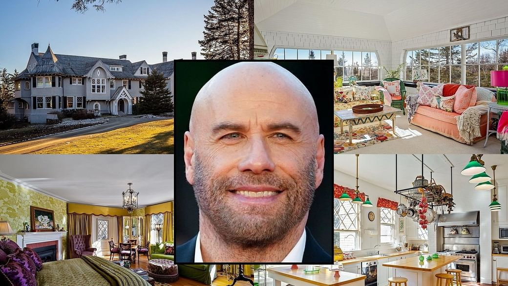 In Pics Grease Actor John Travolta Puts Up His Rs 36 Crore 20 Bedroom Oceanic Mansion For Sale
