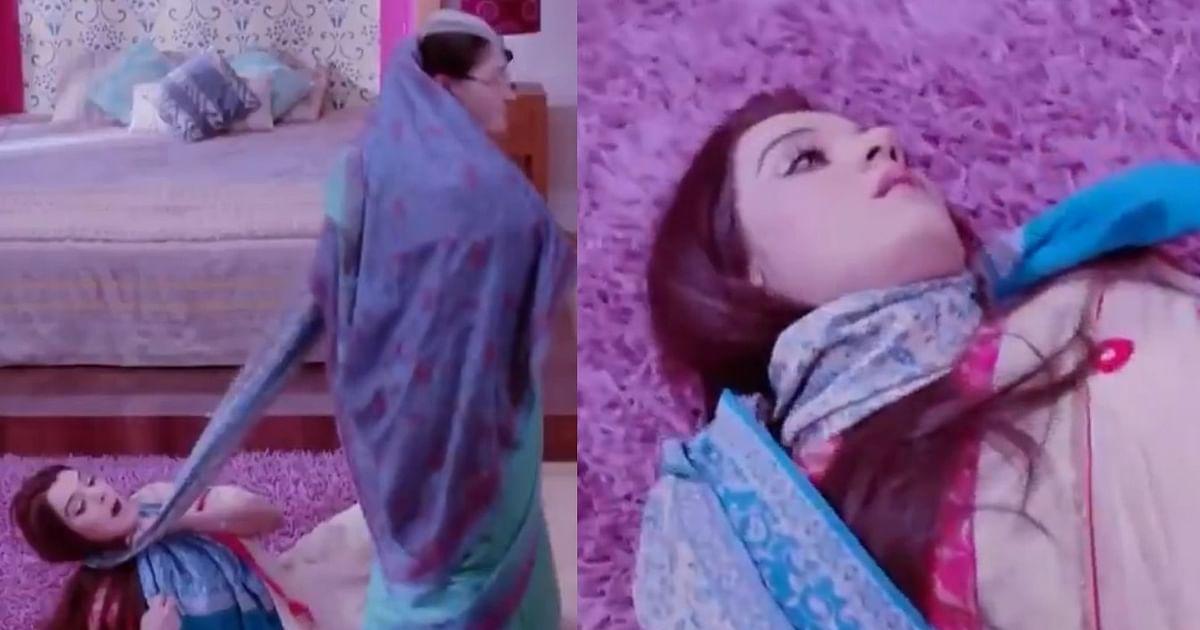 Sasural Simar Ka: Bizarre shawl choking scene from