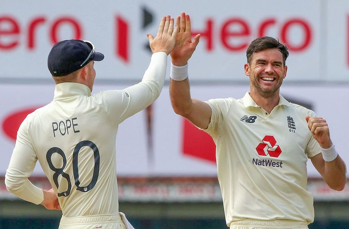 Ind vs Eng, 1st Test: Anderson, Leach leave hosts reeling at 144/6 on day five