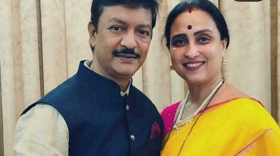 Maharashtra: ACB books state BJP vice-president Chitra Wagh's husband in DA case