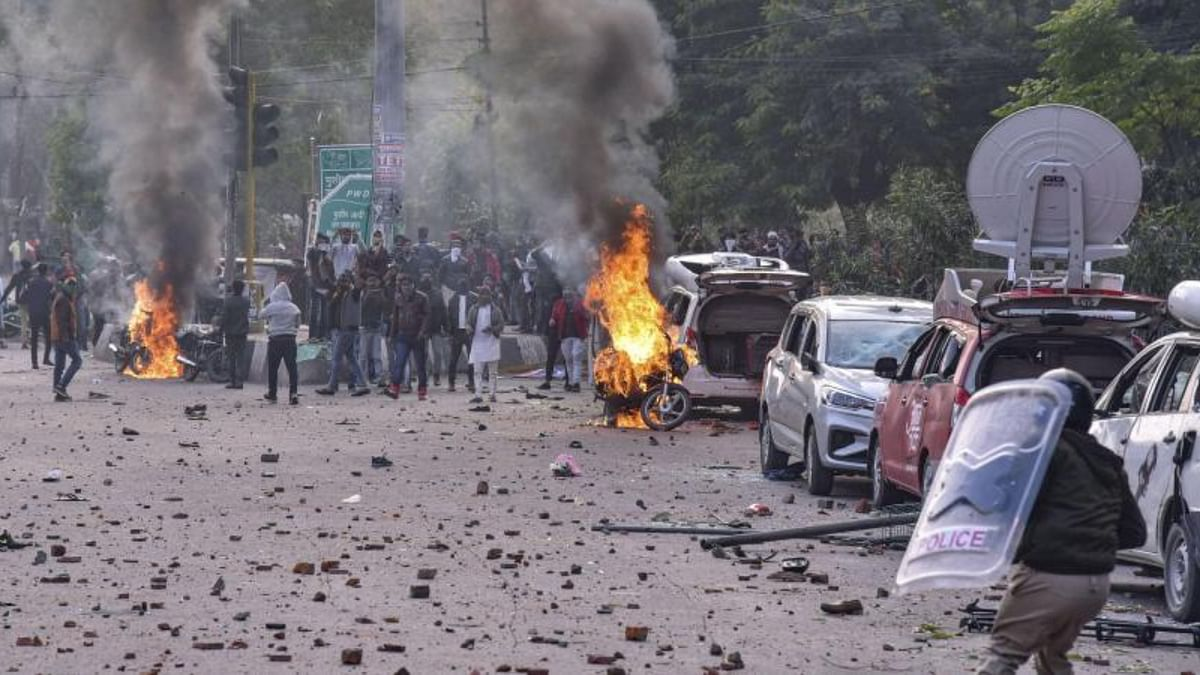 Anti-CAA protests in Lucknow on December, 2019