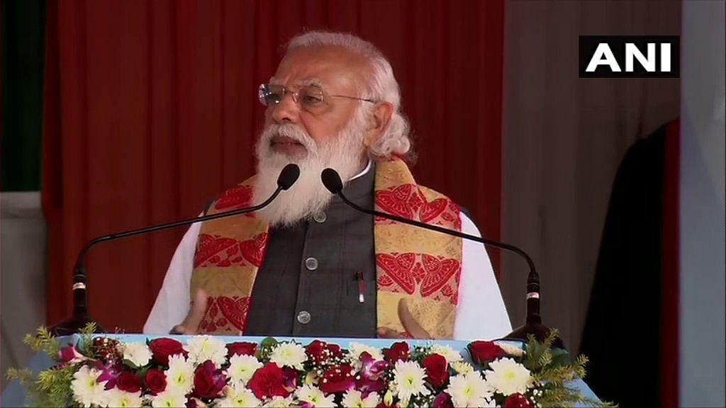 Assam: PM Narendra Modi launches 'Asom Mala' programme in Sonitpur district