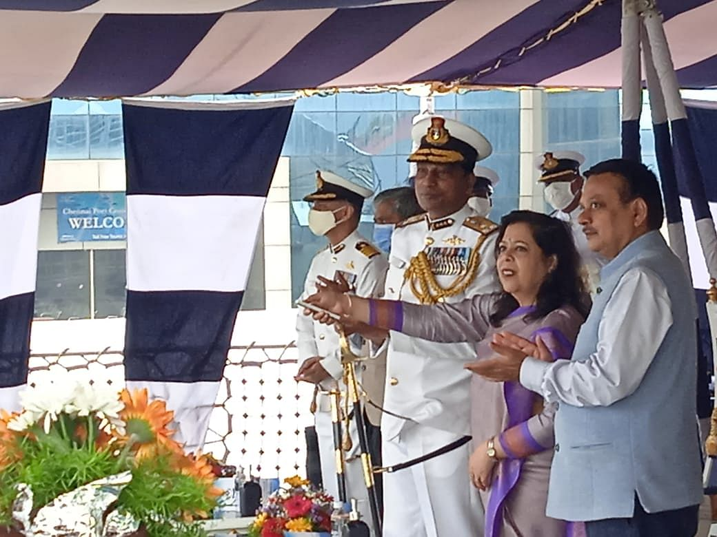 Indian Coast Guard Commissions Interceptor Boat C-453