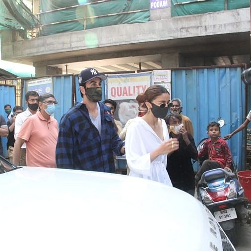 See pics: Alia Bhatt, Ranbir Kapoor reportedly getting a home built for themselves
