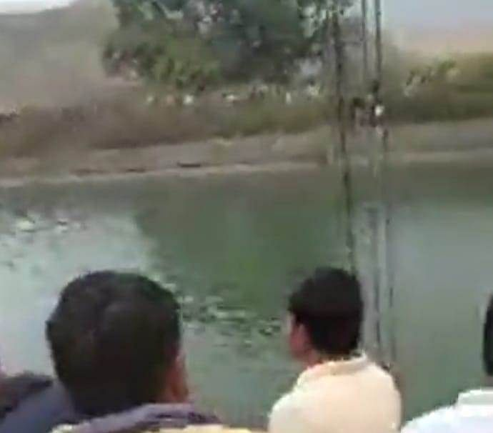 Bus falls into canal in Madhya Pradesh's Sidhi district, rescue operation underway