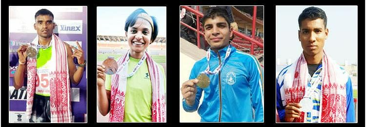 Madhya Pradesh athlete creates new national record, team bags 13 medals in National Junior Athletics Championship