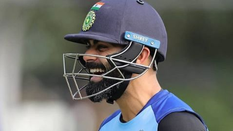 Watch: Virat Kohli hilariously imitates Steve Smith at the nets