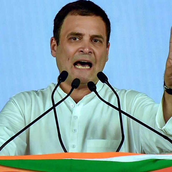 Rahul Gandhi slams Centre over bodies being found buried near Ganga