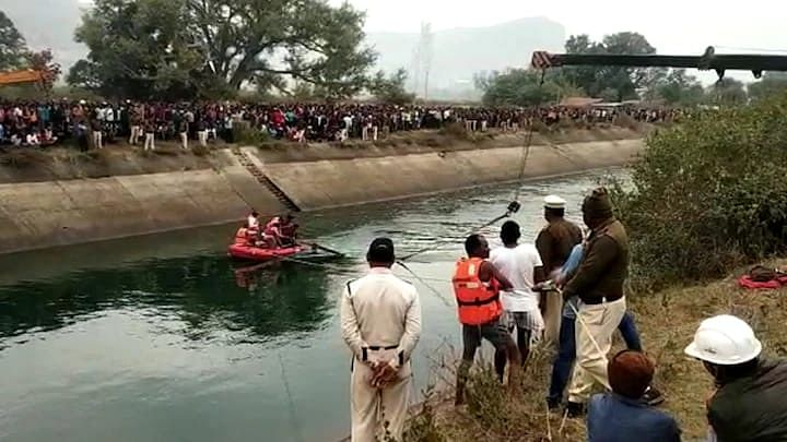 Madhya Pradesh: 45 killed as bus falls into canal; PM Modi, Amit Shah express condolences