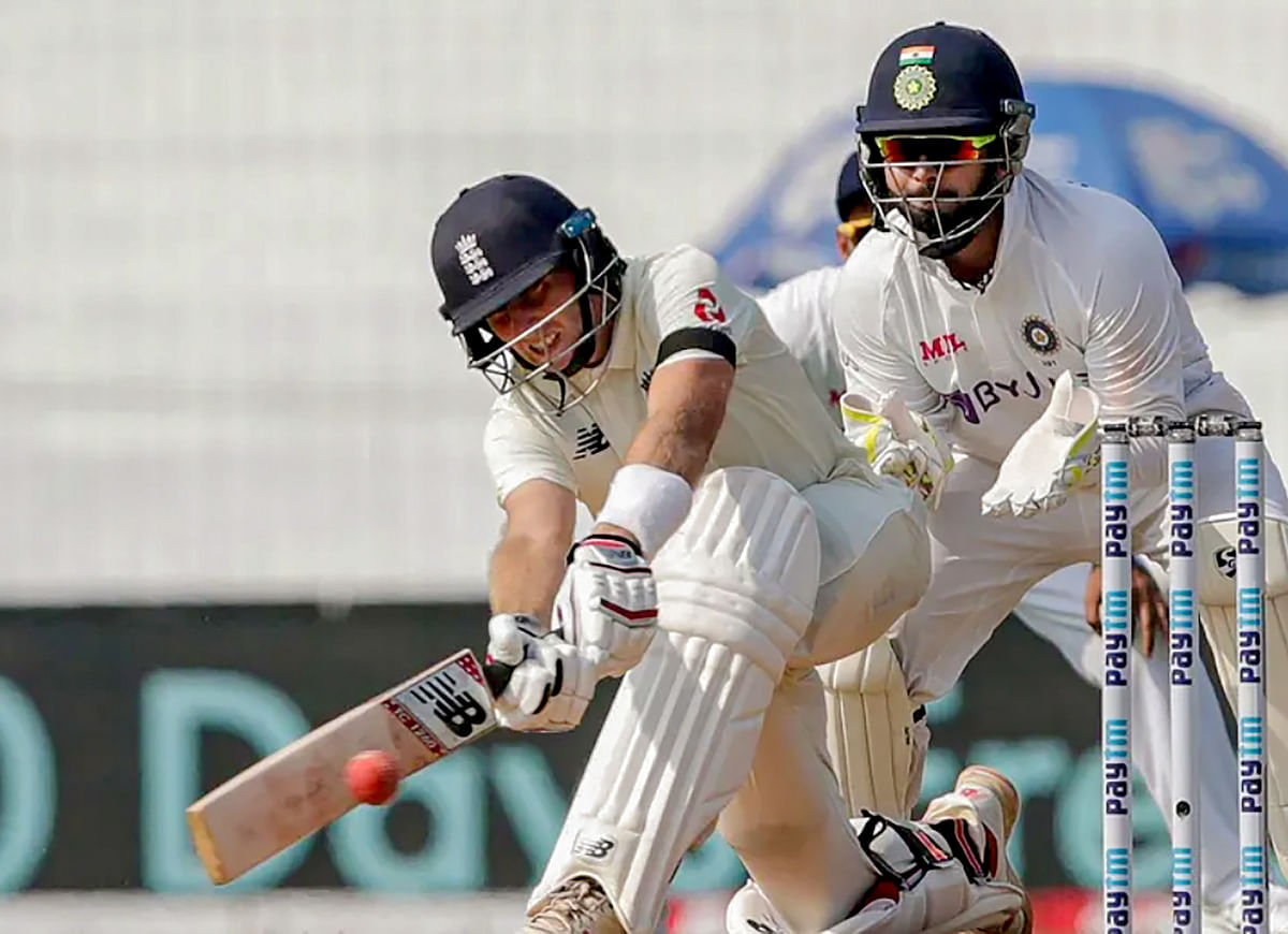 India-England Test: Joe Root's 218 puts visitors in command on Day Two