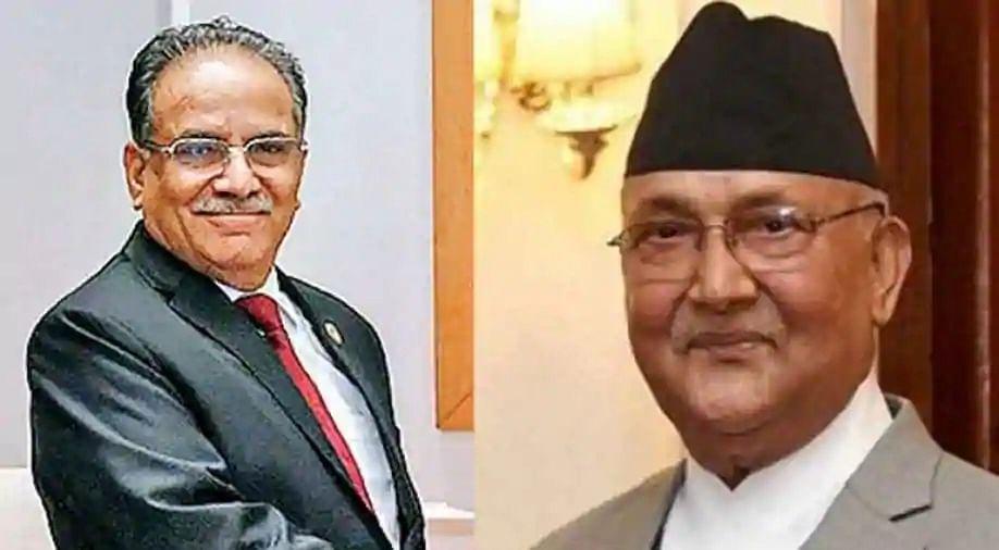 Nepal PM Oli, Prachanda