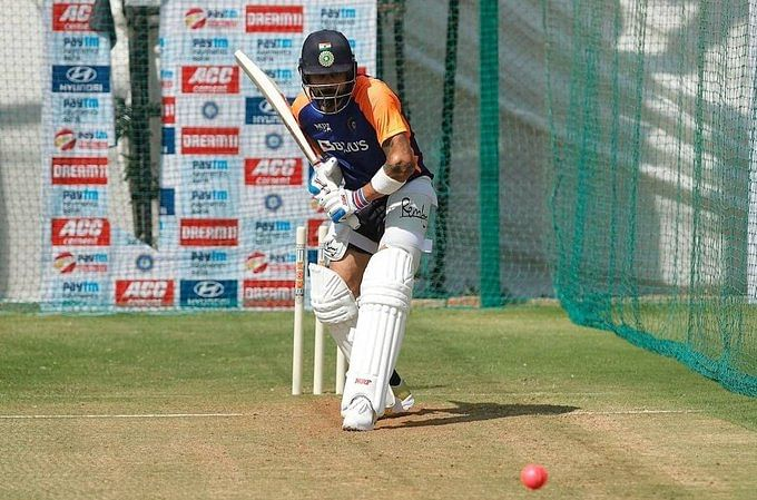 Ind vs Eng, 3rd Test: Virat Kohli and team train in nets ahead of match in Motera Stadium -- see pics