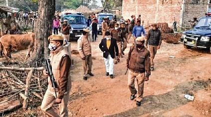 Unnao Dalit sisters cremated amid tight security