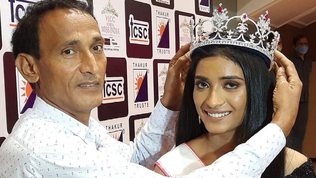 Mumbai: Miss India 2020 runner-up Manya Singh felicitated at Thakur College in Kandivali