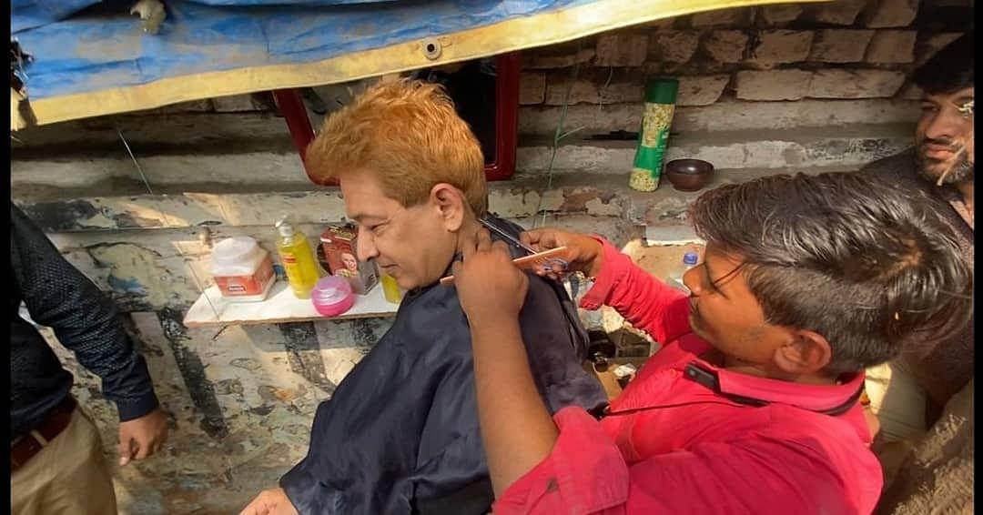 'It was great': Javed Habib gets haircut at roadside salon; photo goes viral