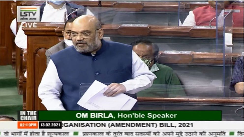 Those who ruled for generations not fit to seek account of our work in J&K: Amit Shah in Lok Sabha