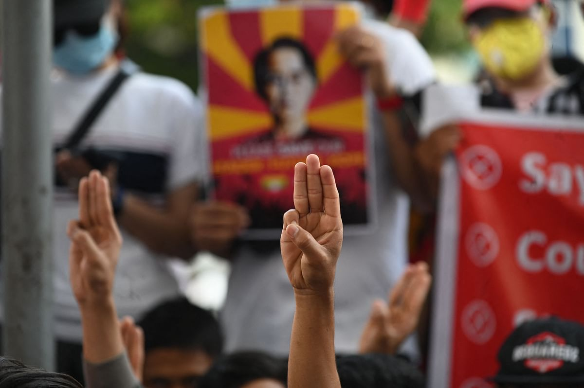 Myanmar coup: Protests held despite UN's fear of violence
