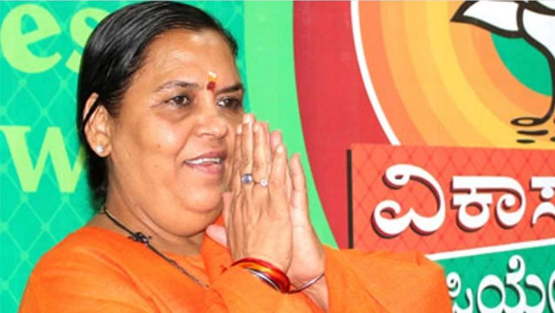 Uma Bharti was the minister of water resources, river development, and Ganga rejuvenation during the first term of the Narendra Modi government.