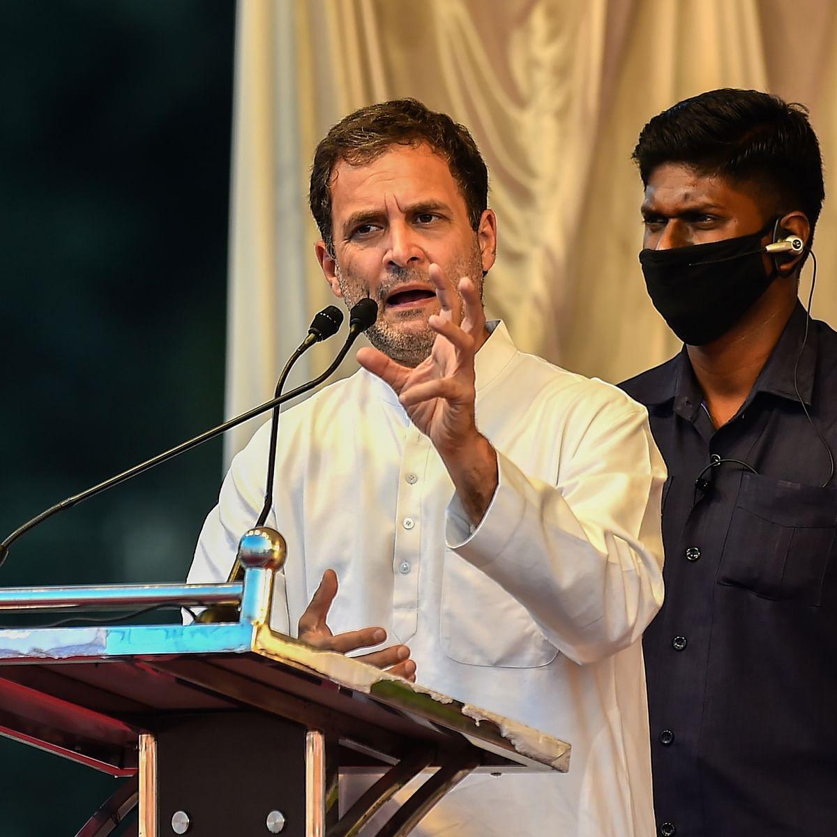 'Criminal wastage': Rahul Gandhi slams govt over Central Vista project