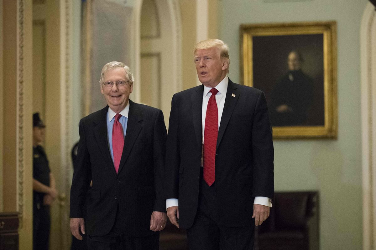 Donald Trump attacks Senate GOP leader Mitch McConnell after acquittal