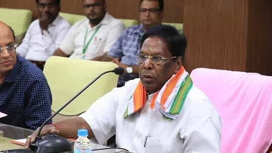 Puducherry Lt Governor asks CM Narayansamy to prove majority on Feb 22
