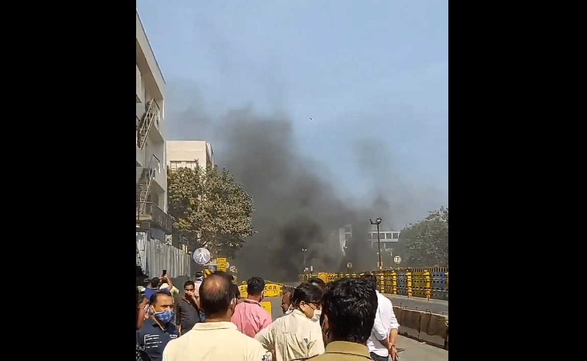Watch: Fire breaks out in Mumbai Metro 3 tunnel at MIDC, Andheri East