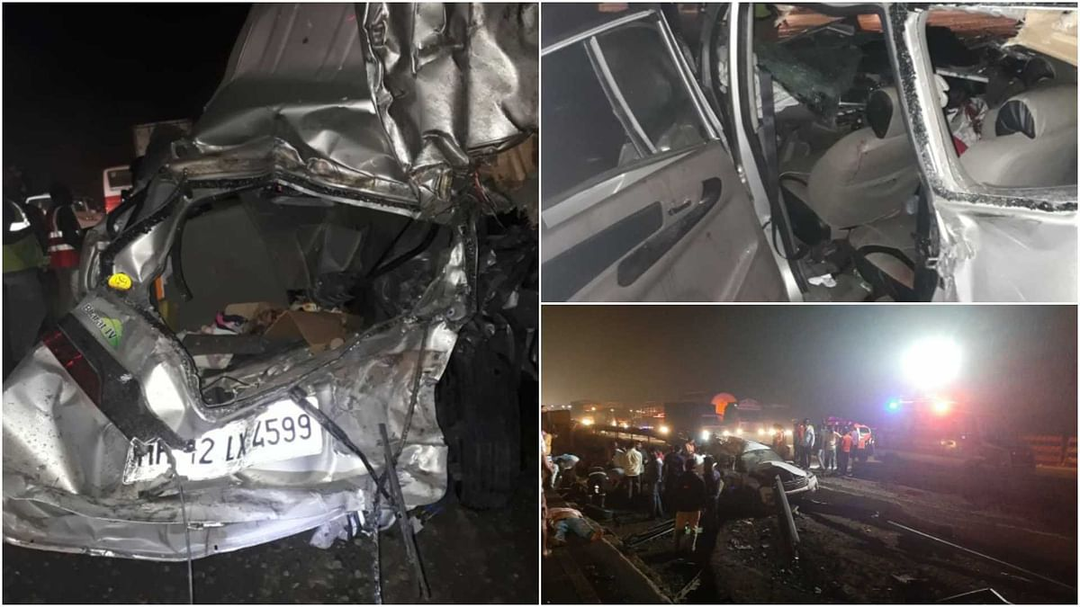 Five including NMMC's Veterinary medical officer dies in road accident in Mumbai-Pune expressway