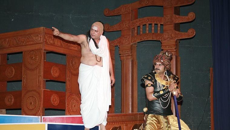 Actor Manoj Joshi takes a nostalgic trip while speaking about his play 'Chanakya'