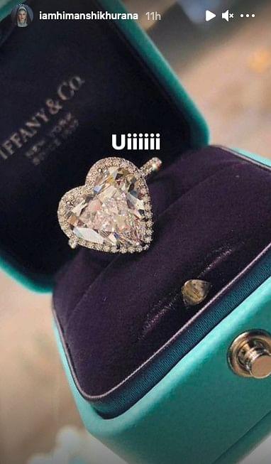 Himanshi Khurana splurges on a Rs 61 lakh diamond ring; refutes engagement rumours with Asim Riaz