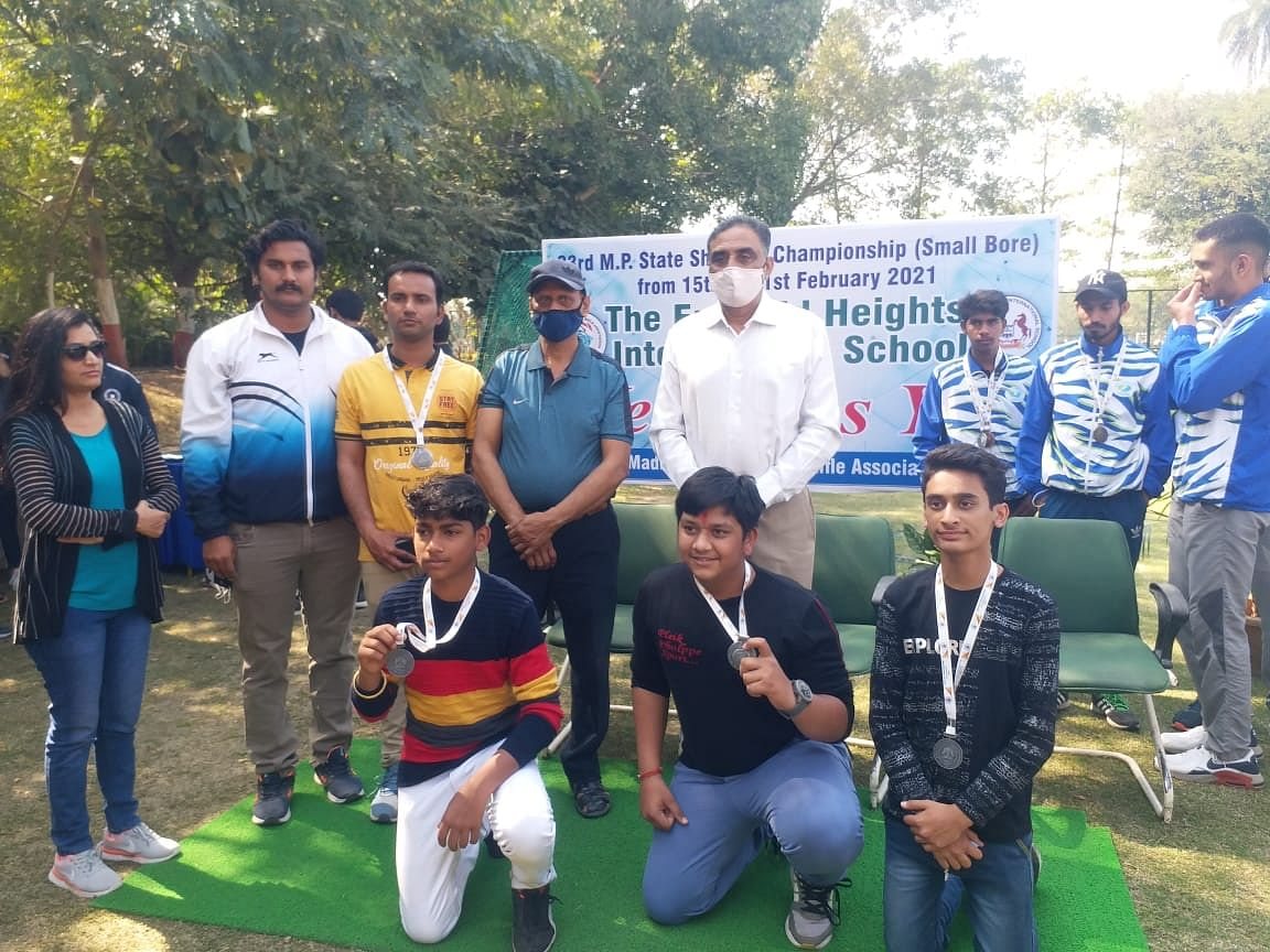 Ujjain:URA players bag 4 gold at shooting championship