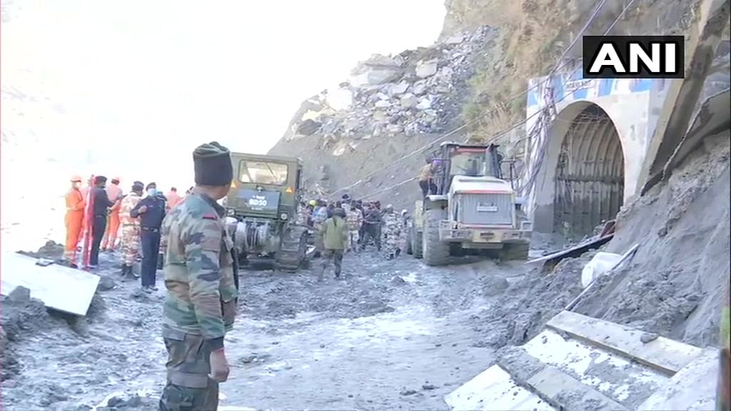 153 missing from Tapovan project sites after Uttarakhand glacier burst