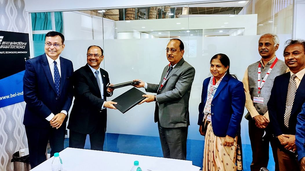 Bharat Electronics signs MoU with BPL Medical Technologies Pvt Ltd. for co-operation in the field of medical products