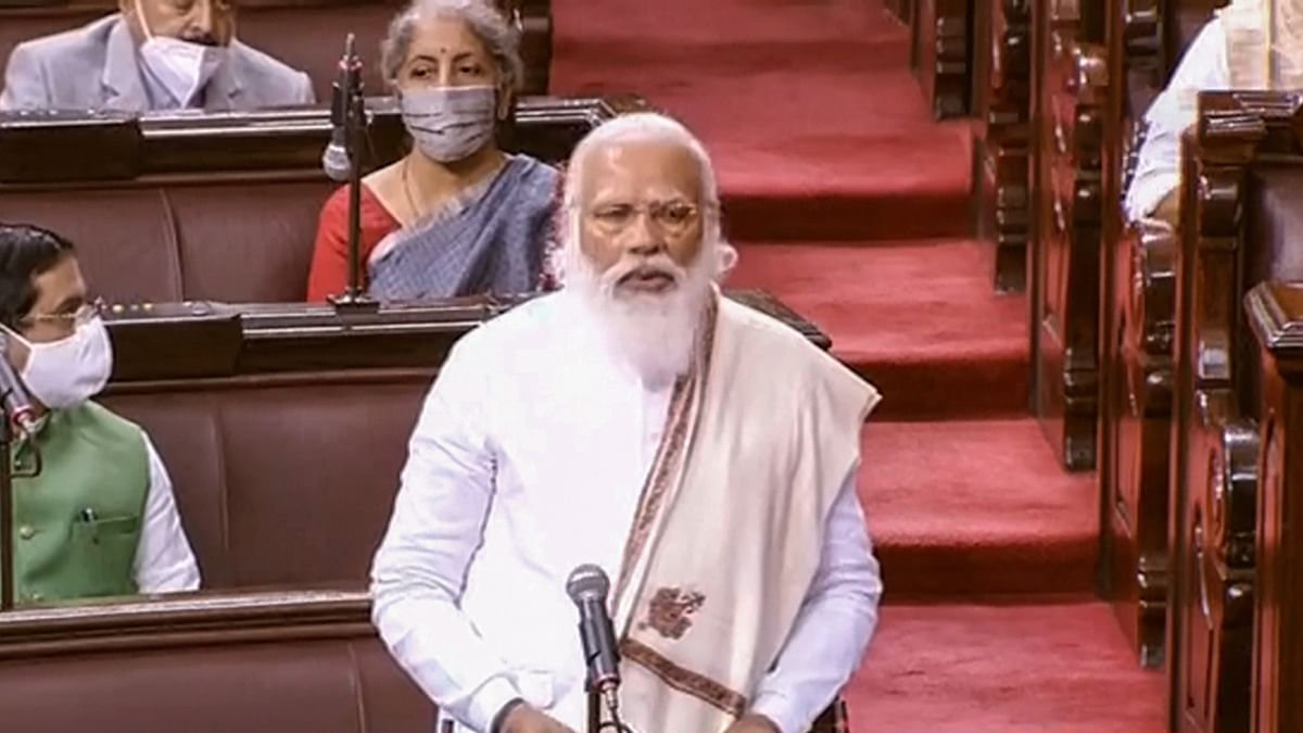 Not just the biggest, India is the 'mother of democracy': PM Modi in Rajya Sabha