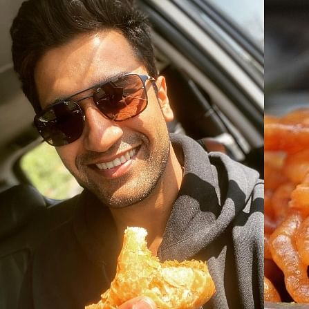 This Vicky Kaushal fan lied to her parents to bring him 'samosa and jalebi' at Indore airport