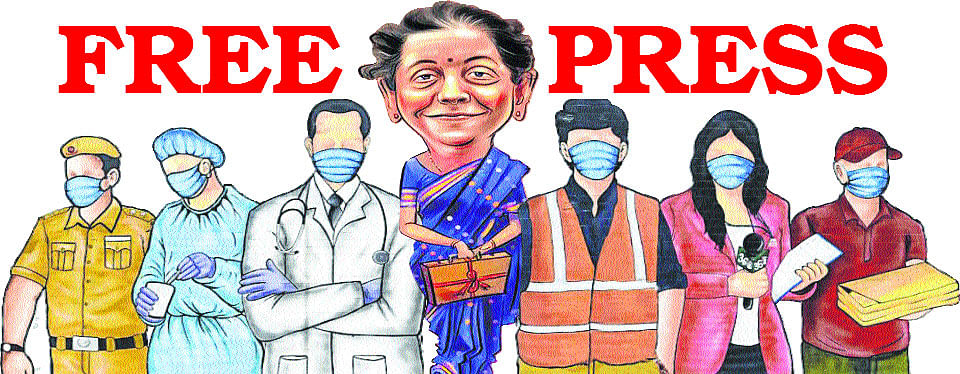 FP masthead on union budget day, which appeared on Tuesday