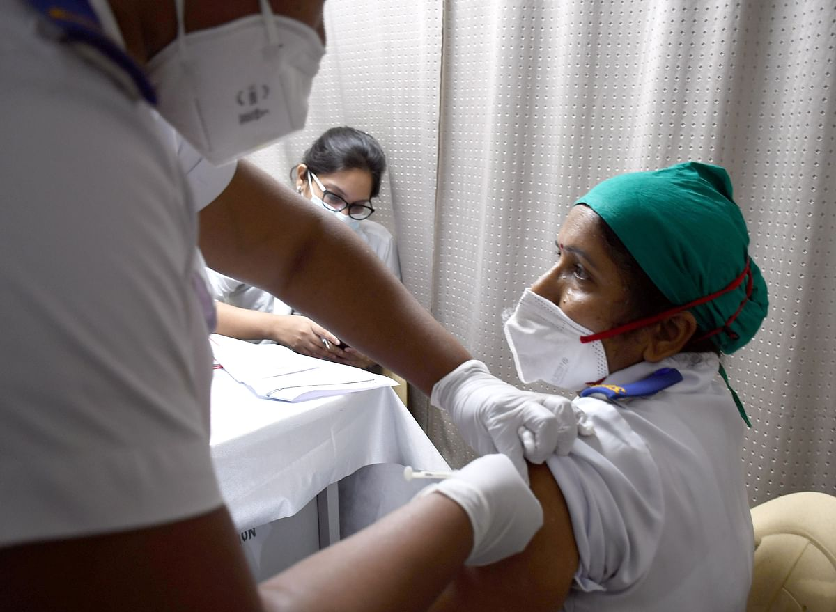 Nearly 61% beneficiaries vaccinated on Friday amid low turnout