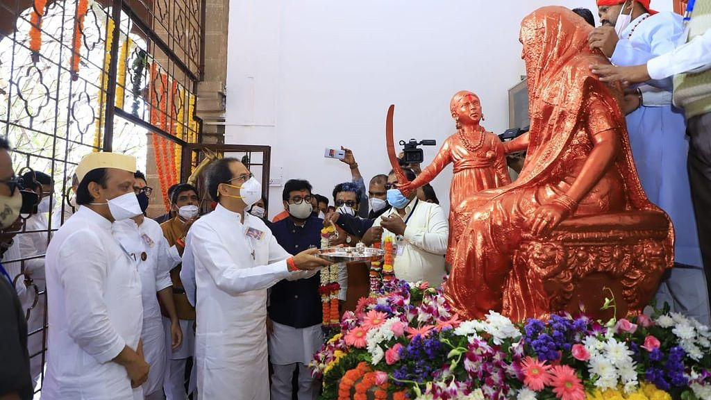 Maha CM Uddhav Thackeray visits Shivneri on Chhatrapati Shivaji Maharaj's birth anniversary