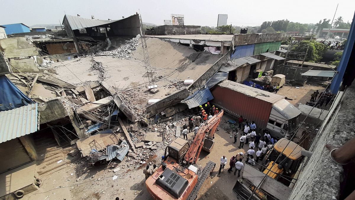 Bhiwandi godown collapse: FIR against 4 persons